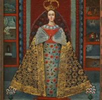 19th Century Madonna and the Crown