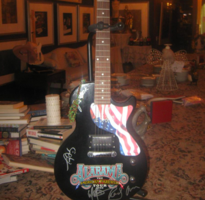Alabama Signed Guitar