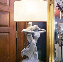 Art Deco Lamp Female