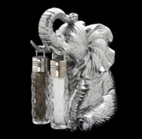 Arthur Court, Elephant Salt and Pepper Shaker Set