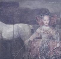 Infanta and Horses I