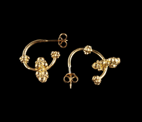 Earrings Grozdic Saraf gold plated