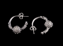 Earrings Jedna Jagoda silver