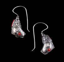 Earrings Ribice silver