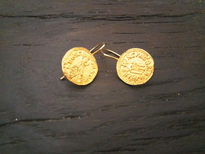 Earrings Tvrtkov Novcic gold plated