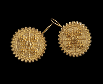 Earrings Zupcanik gold plated