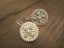 Earrings Zupcanik silver