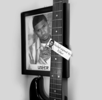 Guitar Signed By Usher