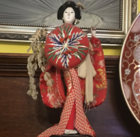 Japanese Doll with Shield