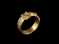 Ring Kakanj gold plated