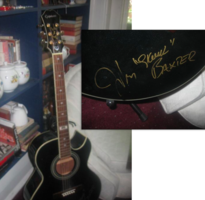 Skunk Baxter Signed Guitar