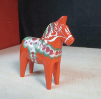 Swedish Hand Painted Dala Horse