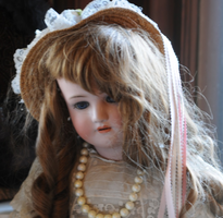 Turn of century large vintage doll