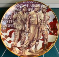 Vietnamese War Memorial Plate